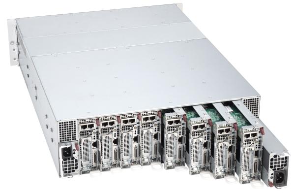 Supermicro 3U Microcloud Server Hosting Optimized Kuwait Qatar Bahrain